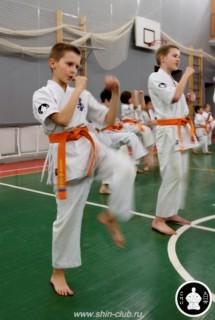 тренировка Киокушинкай 2016 ударов (122)