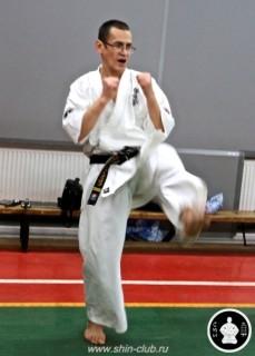 тренировка Киокушинкай 2016 ударов (131)