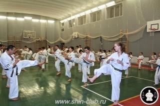 тренировка Киокушинкай 2016 ударов (133)