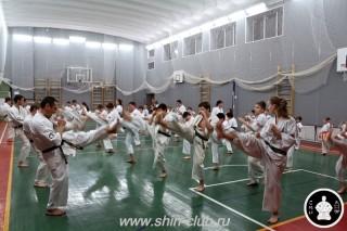 тренировка Киокушинкай 2016 ударов (135)