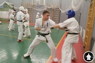 тренировка Киокушинкай 2016 ударов (171)