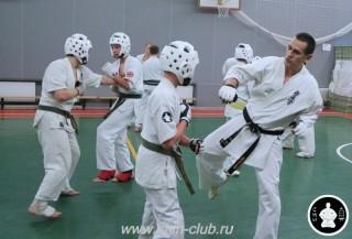тренировка Киокушинкай 2016 ударов (222)