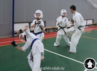 тренировка Киокушинкай 2016 ударов (240)
