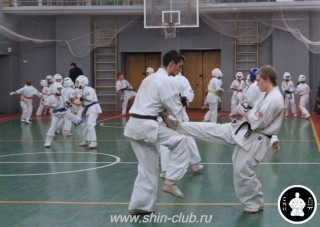 тренировка Киокушинкай 2016 ударов (292)