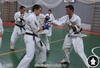 тренировка Киокушинкай 2016 ударов (301)