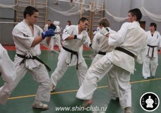 тренировка Киокушинкай 2016 ударов (302)