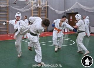 тренировка Киокушинкай 2016 ударов (306)