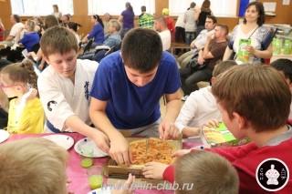 Награждение в клубе Киокушинкай СИН (100)