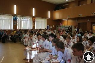 Награждение в клубе Киокушинкай СИН (15)