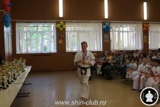 Награждение в клубе Киокушинкай СИН (18)
