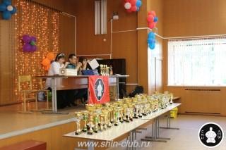 Награждение в клубе Киокушинкай СИН (2)