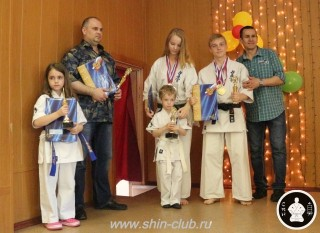 Награждение в клубе Киокушинкай СИН (22)