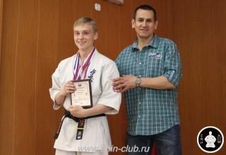 Награждение в клубе Киокушинкай СИН (23)