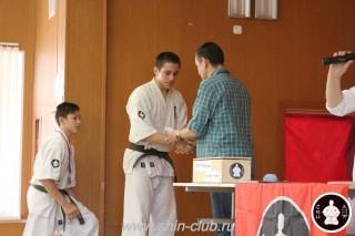 Награждение в клубе Киокушинкай СИН (47)