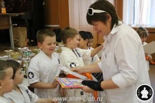 Награждение в клубе Киокушинкай СИН (63)