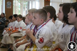 Награждение в клубе Киокушинкай СИН (7)