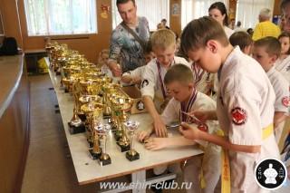 Награждение в клубе Киокушинкай СИН (78)
