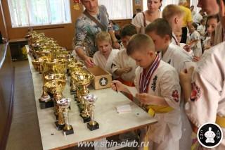 Награждение в клубе Киокушинкай СИН (79)