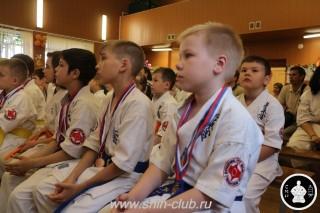 Награждение в клубе Киокушинкай СИН (8)