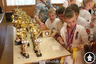 Награждение в клубе Киокушинкай СИН (80)