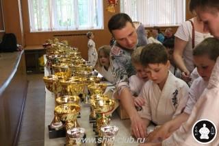 Награждение в клубе Киокушинкай СИН (81)