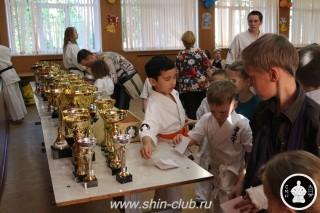 Награждение в клубе Киокушинкай СИН (82)