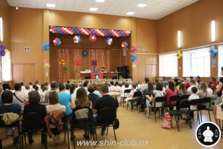 Награждение в клубе Киокушинкай СИН (9)