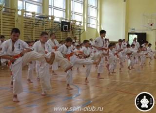 экзамены Киокушинкай каратэ (2)