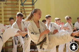 экзамены Киокушинкай каратэ (203)