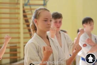 экзамены Киокушинкай каратэ (205)