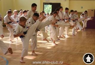 экзамены Киокушинкай каратэ (225)