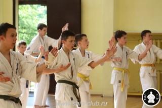 экзамены Киокушинкай каратэ (245)