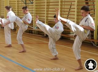 экзамены Киокушинкай каратэ (265)