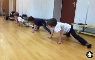первая тренировка по каратэ (1)