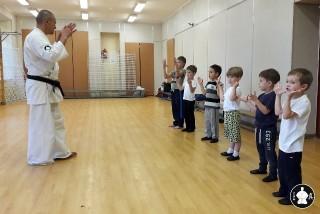 первая тренировка по каратэ (10)