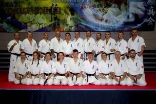 тренеры и спортсмены Кекусинкай карате