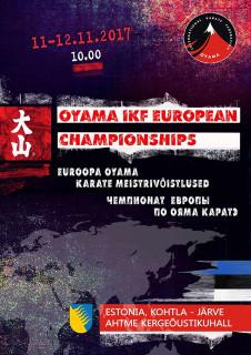 плакат Ояма карате