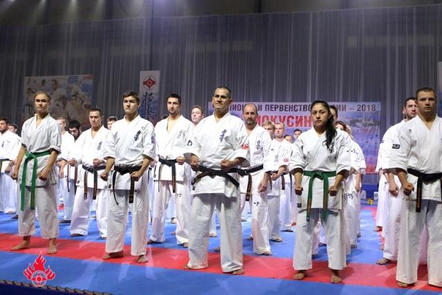 Чемпионат России 2018 года по Киокушинкай